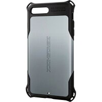 エレコム iPhone8Plus ZEROSHOCK シルバーPM-A17LZEROSV(1コ入)