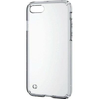 エレコム iPhone8用ハイブリッドケース クリア PM-A17MHVCCR(1コ入)