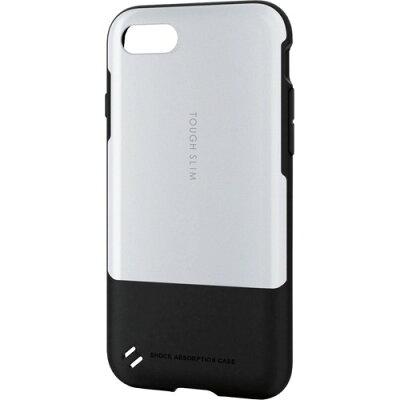 エレコム iPhone8用タフスリム ホワイト PM-A17MTSWH(1コ入)