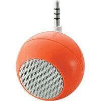 エレコム スマホ用モノラルスピーカー ASP-SMP050DR オレンジ