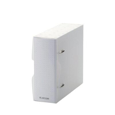 エレコム DVD・CD不織布ケース専用 ファイル CCD-BC02CR(1セット)