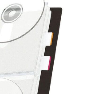 エレコム DVD/CD用ディスクファイル 24枚収納 CCD-FS24CR(1コ入)