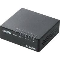 ELECOM スイッチングハブ EHC-G05PA-B-K