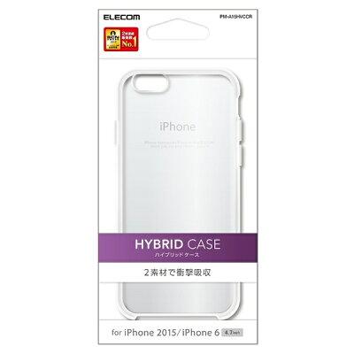 ELECOM iPhone 6s  6用ハイブリッドケース PM-A15HVCCR