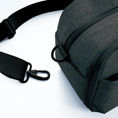 エレコム オフトコ 2スタイルショルダーバッグ ブラック DGB-S025BK(1コ入)