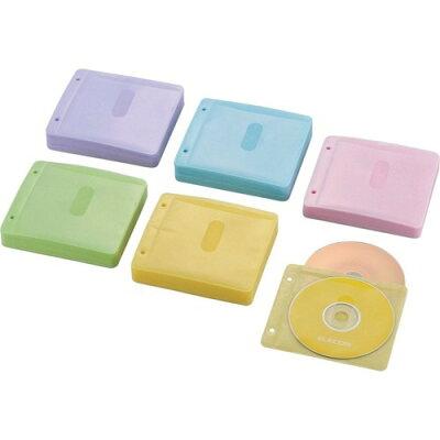 エレコム ブルーレイ・CD・DVD対応不織布ケース CCD-NBWB240ASO(1パック)