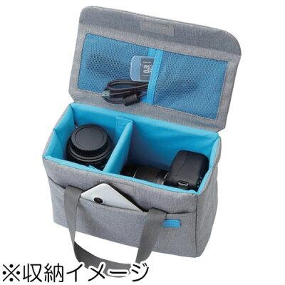 エレコム オフトコ インナーカメラボックス グレー Mサイズ DGB-S026GY(1コ入)