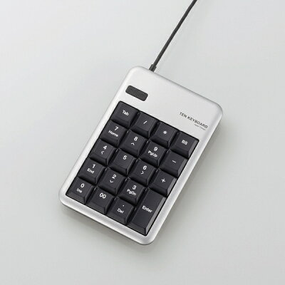 エレコム USBテンキーボード TK-TCM011SV(1コ入)