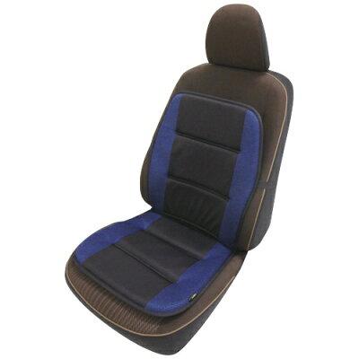 錦産業 ER-1247 ダブルクッション 消臭&快適 ブラック/ブルー