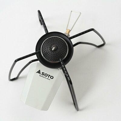 SOTO レギュレーターストーブ ホワイト×ブラック ST-N310WH
