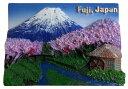 三松貿易 JAPANマグネット ブリスターパック入 富士と水車