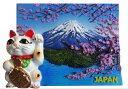 三松貿易 JAPANマグネット ブリスターパック入 招き猫と富士