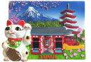 三松貿易 JAPANマグネット ブリスターパック入 招き猫と雷門