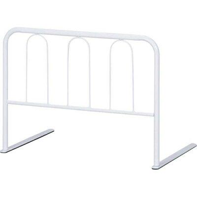 不二貿易 ベッド ガード ハイ タイプ 高さ   ホワイト 10106