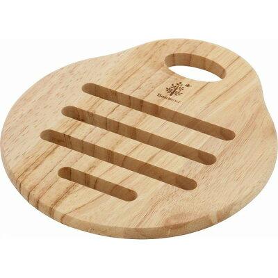 不二貿易 木製トリベット ペア ボヌール ナチュラル 22646