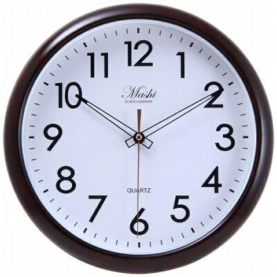 不二貿易 Fuji Boeki 掛時計 アルコル Φ30cm BR