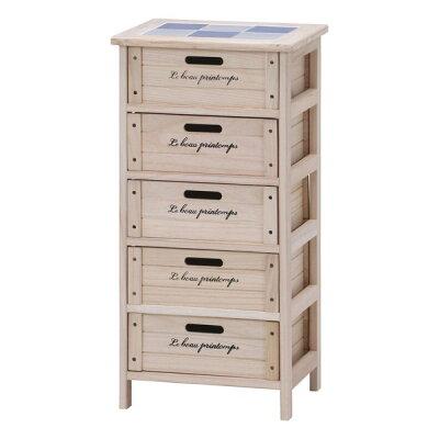 不二 木製5段ボックス HF05-004