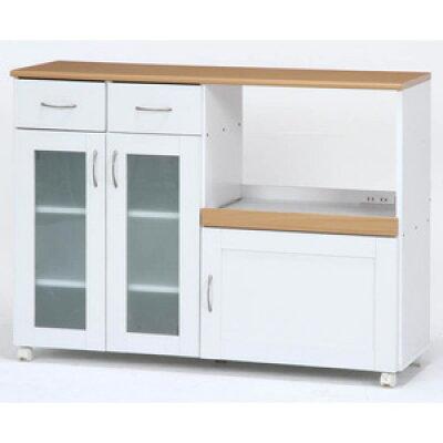 キッチンカウンター サージュ WH×NA 120幅 96820