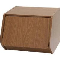 不二貿易 ブロックボックスKlotzワイド扉付BR 97523 ブラウン