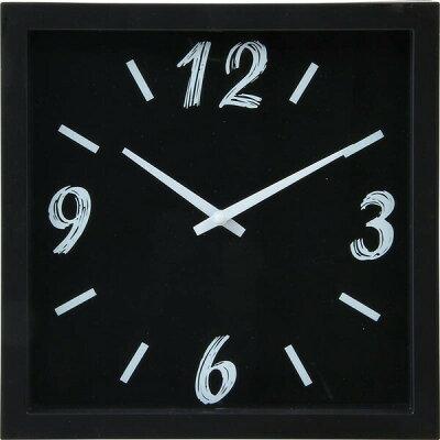 掛時計 ペイント 四角型23cm