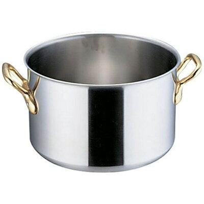 HONMA/本間製作所 SAスーパーデンジ 半寸胴鍋 蓋無 48cm