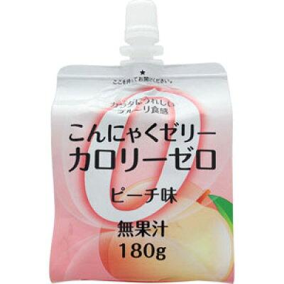 ファイトマン蒟蒻ゼリーカロリーゼロ(ピーチ)180g