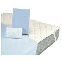 フランスベッド ベッドインバッグW (羊毛3点パック) シングルサイズ ブルー 4287141 (32985)
