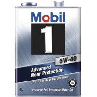 モービル Mobil 5W-40 SN 4L ガソリン車用オイル 117103