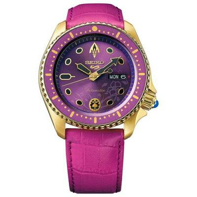 SEIKO 腕時計 SBSA036 メンズ SEIKO 5 SPORTS ジョジョの奇妙な冒険 黄金の風 ジョルノ・ジョバァーナ