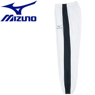 MIZUNO/ミズノ A60WP054 ウインドブレーカーパンツ シルバー×ブラック