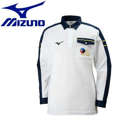 ミズノ  レフェリーシャツ バレーボールウェア 長袖 V2JC8061