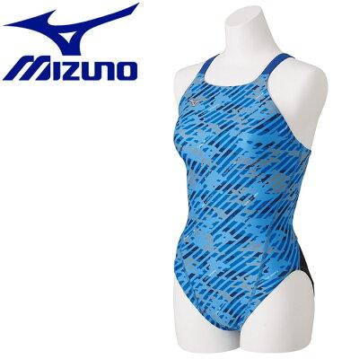 mizuno/ミズノ N2MA8766-27 エクサースーツ ミディアムカット ブルー