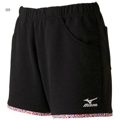 ミズノ MIZUNO ゲームパンツ レディース ブラック 62JB720509 テニスウェア ショートパンツ ハーフパンツ