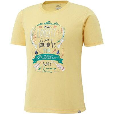 ミズノ MIZUNO ドライベクター プリントTシャツ ウィメンズ 44 A2JA7232