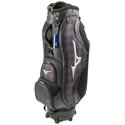 ミズノ MIZUNO ゴルフ用品 カートキャディバッグ LIGHT STYLE NEXLITE シルバーチェック 5LJC190100 94