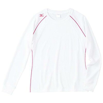 mizuno/ミズノ 32MA5356-01 長袖Tシャツ レディース ホワイト