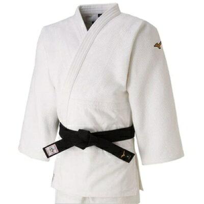 22JA8A01013B ミズノ ユニセックス 柔道衣 新規格 上衣のみ ホワイト・サイズ:B体・3B号 全柔連・IJF新規格基準モデル