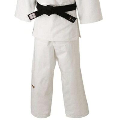 22JB8A01011.5 ミズノ ユニセックス 柔道衣 新規格 パンツのみ ホワイト・サイズ:標準・1.5号 全柔連・IJF新規格基準モデル