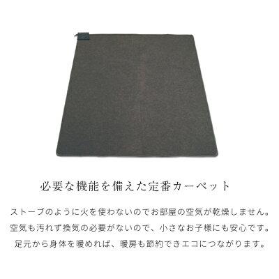 TEKNOS ホットカーペット1.5畳用本体 TWA-1500B