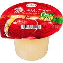 濃いりんごゼリー 0kcaL(195g*6コ入)