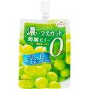 濃い蒟蒻ゼリー 0kcaL マスカット味(150g*6個)