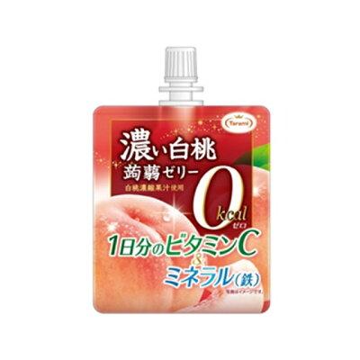 たらみ 濃い白桃0kcal蒟蒻ゼリー 150g