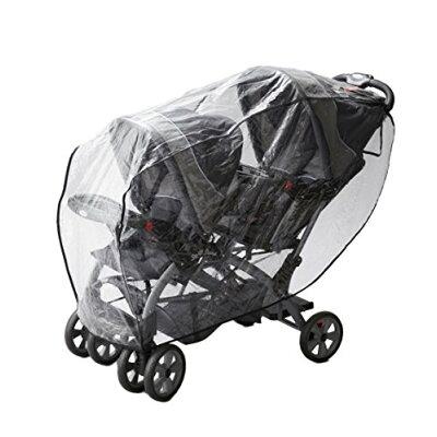 Good-Baby 二人乗りベビーカー用レインカバー(縦型)(1コ入)