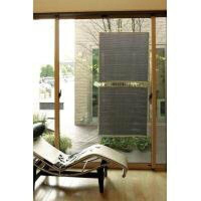 【省エネ紫外線カット】日よけ 洋風すだれ 簾 アルミ室内貼り