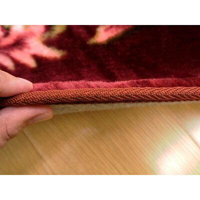 ラグ カーペット ラグマット   3畳 ホットカーペットカバー 床暖房角形 長方形 ウレタン 厚手 不織布