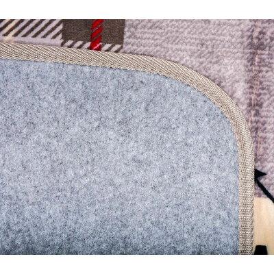 萩原 240608909 ホットカーペットカバー エクスプローラー グレー   シャギー シャギーラグ カーペット ラグ マット フロアマット