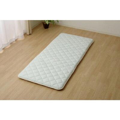 イケヒコ・コーポレーション 敷き布団 シングル 寝具 抗菌防臭 アレル物質吸着 ヌード アレルプルーフ 約100×210cm