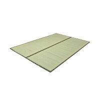 イケヒコ・コーポレーション フリーカット い草上敷 F竹 江戸間6畳 約261×352cm 裏:ウレタン張り