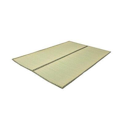 純国産 い草 上敷き カーペット 双目織 松 本間6畳 約286×382cm
