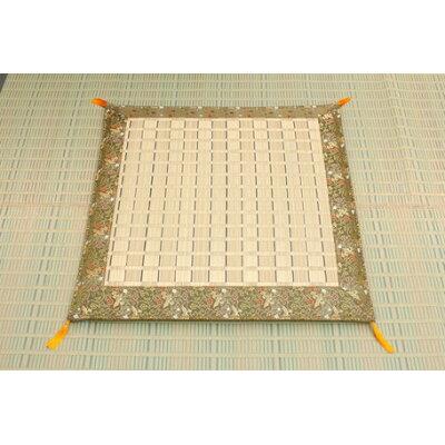 イケヒコ・コーポレーション 純国産 掛川織 い草御前 仏前 座布団 松川 約70×70cm